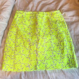 JCrew high waisted pencil skirt